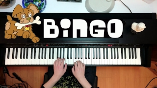 Bingo Was His Name-O - Folk Song - Piano Cover