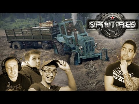 Belarus MTZ 80 - Wtopa wpadki i inne wypadki !! Mariusz ale dziury.. ☆ Spintires MP ㋡ MafiaSolec