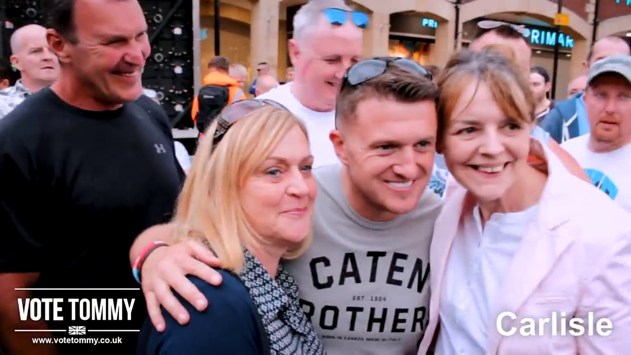 The Working Class Unite for Tommy Robinson   Campaign Highlights