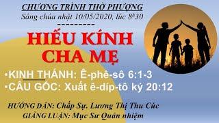 HTTL BẾN GỖ - Chương trình thờ phượng Chúa - 10/05/2020