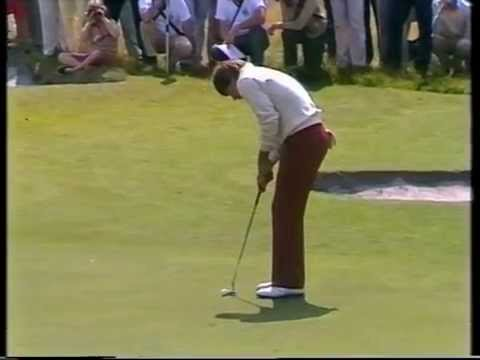 1983 Australian Open Golf won by Peter Fowler   ABC TV   Kingston Heath Golf Club