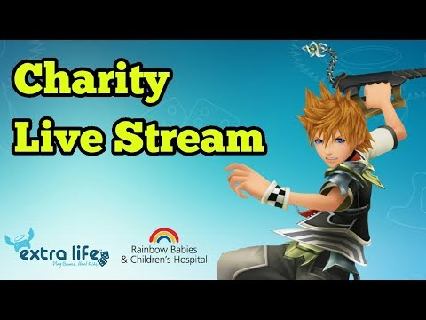 |1| Extra Life - 12 Hour Charity Livestream! [Kingdom Hearts: Birth by Sleep PROUD]