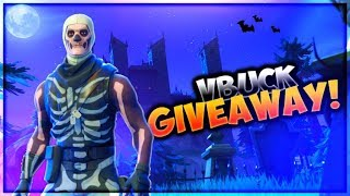 FORTNTIE GRINDING! V-BUCK GIVEAWAY @5K SUBS! | (ROAD TO 5K SUBS) FORTNITE LIVE GAMEPLAY!