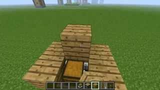Как сделать невидимый сундук.Механизмы Minecraft [Выпуск 2]
