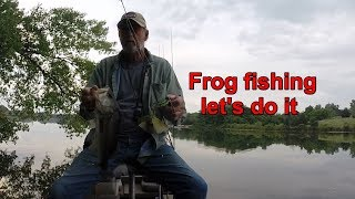 Frog fishing let's do it
