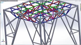 อธิบายการประกอบโครงสร้างเหล็กสำหรับถังประปา 10 คิว