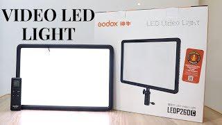 Best Video LED Light | Godox LEDP260C LED Video Light | Tech Unboxing