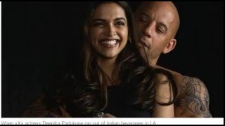 xXx actress Deepika Padukone ran out of Indian beverages in LA
