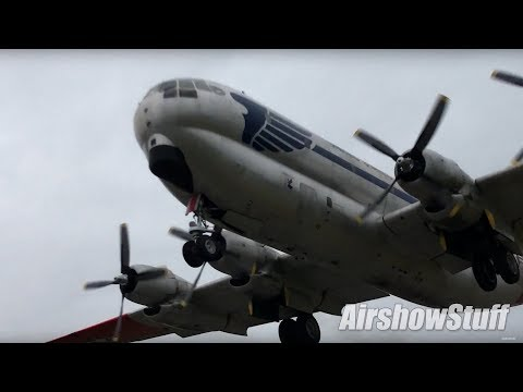 Amazing C-97 Stratofreighter Takeoff! Second Flight After Restoration