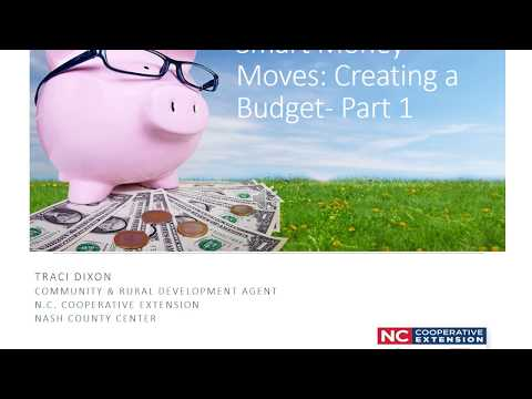 Smart Money Moves: Creating A Budget Part 1