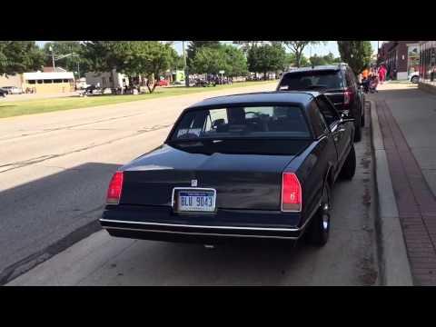 1986 Chevy Monte Carlo 383 Stroker (Burnout)