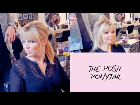 Hair Hack: How To Get Kate Thornton's Posh Pony