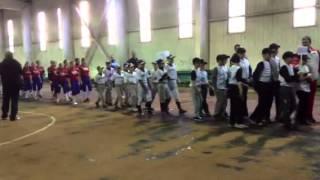 """Бейсбол: Парад учасників турніру """"Зимові канікули"""""""