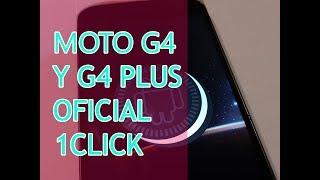 ¡Al fín! Oreo Oficial en 1 click para Moto G4 y G4 Plus - Tecno Pixel