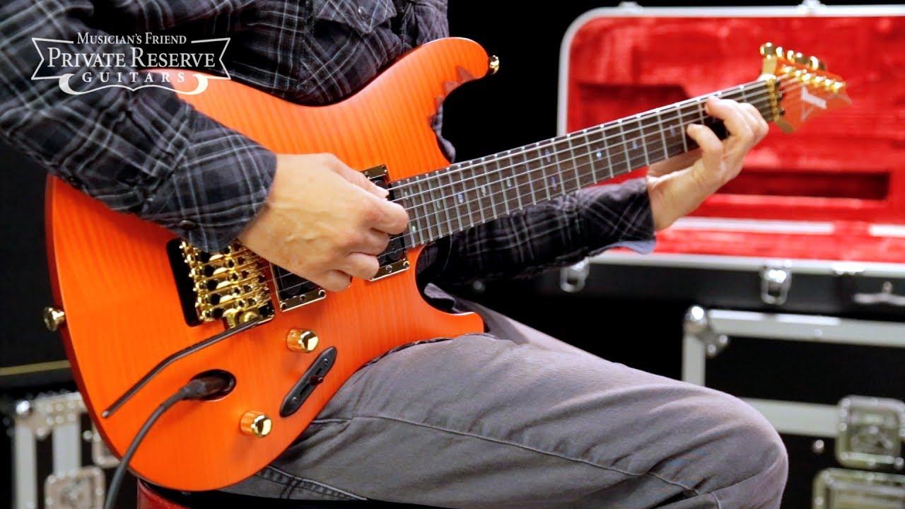 ibanez egen herman li guitar electric series signature