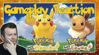 🔴 POKÉMON LET'S GO PIKACHU & EVOLI 🎲 E3 2018 Nintendo Treehouse Gameplay Live Reaction