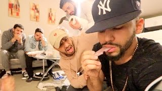 CUTTING TONGUE OFF PRANK!!