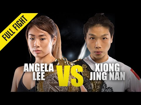 Angela Lee vs. Xiong Jing Nan 2 | ONE Full Fight | October 2019