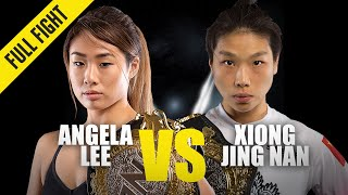 Angela Lee Vs. Xiong Jing Nan 2  ONE Full Fight  October 2019