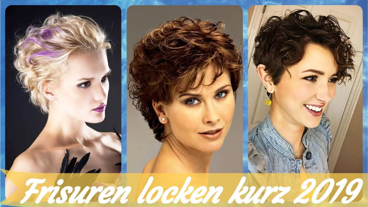 Die Coole 20 Ideen Zu Kurzhaarfrisuren Fur Naturlocken 2019 Youtube