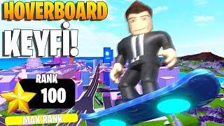 🛹 Hoverboard Keyfff! 🛹 Rank 100!   Mad City   Roblox Türkçe