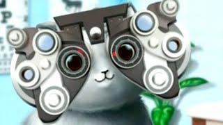 Кошка АНЖЕЛА в ПРИЮТЕ для ЖИВОТНЫХ. Игровой мультфильм про котиков