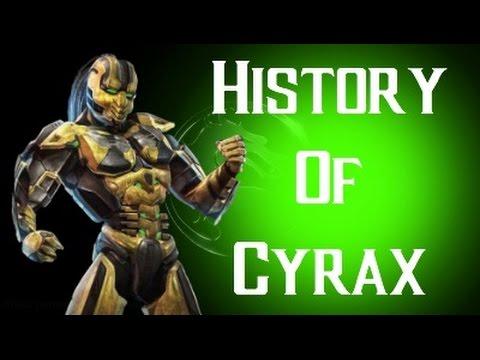 History Of Cyrax Mortal Kombat X