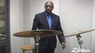 "Kenny Washington and the Zildjian 22"" K Constantinople Bounce Ride - Part 1"