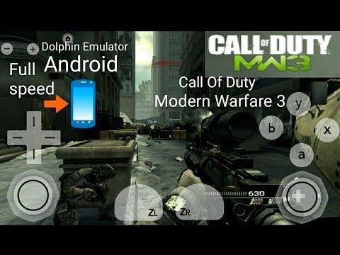 Dolphin Emulator Call Of Duty Modern Warfare 3 Android Gameplay