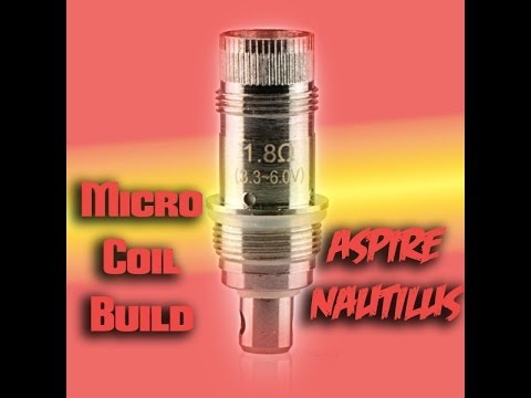 Micro Coil Build In The Aspire Nautilus