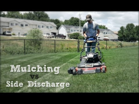 Mulching vs Side Discharge - Why I Prefer To Side Discharge When Mowing