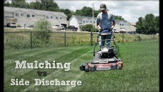 Mulching vs Side Discharge - Why I Prefer To Side Discharge When Mowing thumbnail