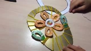 Корзинка с цветком  Урок технологии  Перспектива 2 класс