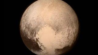 NASA опубликовало первое цветное видео Плутона