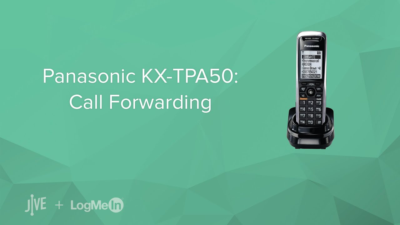 panasonic kx tpa50 call forwarding youtube rh youtube com panasonic model no. kx-tga641 user manual