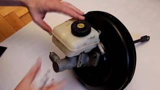 Разбираем вакуумный усилитель тормозов Opel Astra G