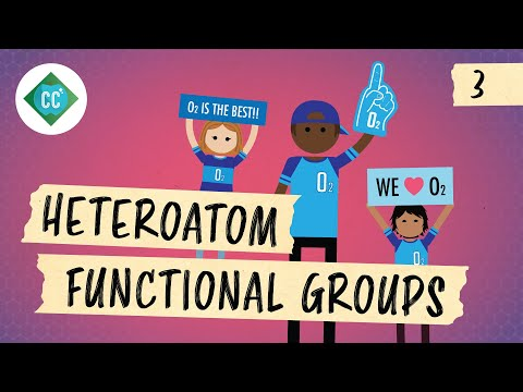 More Organic Nomenclature: Heteroatom Functional Groups: Crash Course Organic Chemistry #3