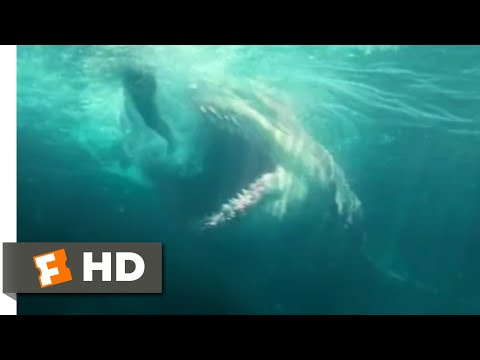 The Meg (2018) - Man Vs. Shark Scene (4/10) | Movieclips