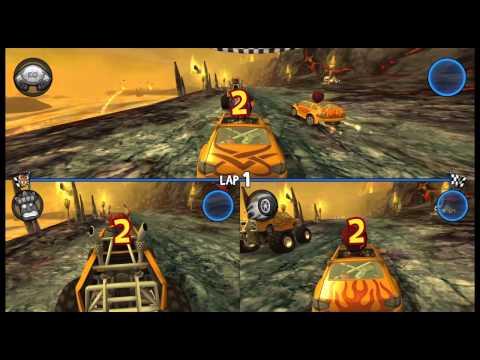 Dijkekipgaming speelt Beach buggy racing #3