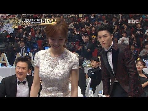 [2016 MBC Drama Awards]2016 MBC 연기대상- Seo Hajun, Jin Seyeon 우수 연기상 특별기획 부문 수상! 20161230