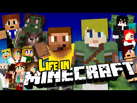 Minecraft Movie: LIFE IN MINECRAFT & MINECRAFT COMES A 7 hours