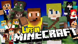 Minecraft Movie: LIFE IN MINECRAFT & MINECRAFT COMES ALIVE (7 hours)