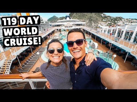 119 Day Cruise AROUND THE WORLD | MSC Magnifica Full Ship To