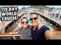 119 Day Cruise AROUND THE WORLD | MSC Magnifica Full Ship Tour