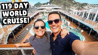 Today we boarded our first ever Around the World Cruise on the MSC ...