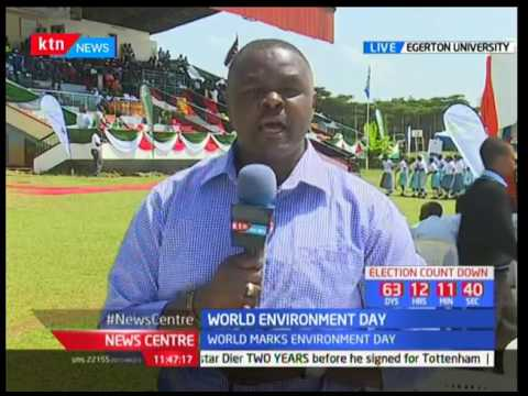 Kenya joins the world in celebrating World Environment Day
