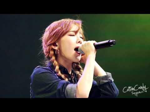 [fancam] 141007 Taeyeon - Only U WAPOP