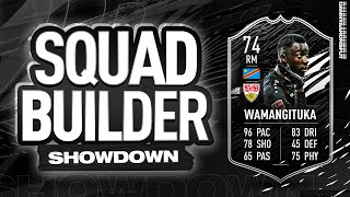 WAMANNNNN SQUAD BUILDER SHOWDOWN
