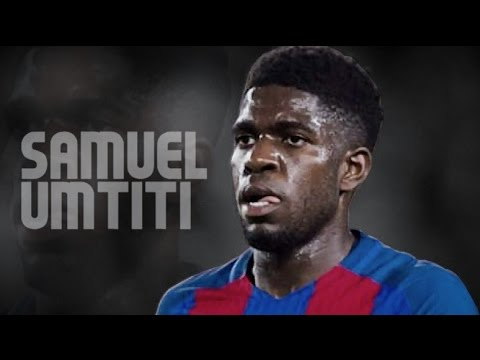 Samuel Umtiti 2017 FC Barcelona Best Skills Passes
