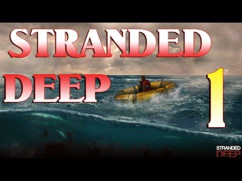 Песочницы #15. Stranded Deep. #1. Строительство и костер.